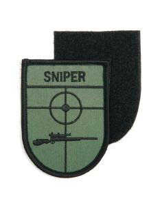 Toppa Patch Sniper Cecchino in tessuto ricamato con velcro softair