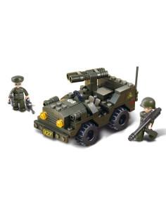 Jeep Lanciarazzi - Costruzioni Militari Sluban M38-B5800 comp. Lego