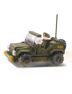 Ambulanza + Jeep - Costruzioni Militari Sluban M38-B6000