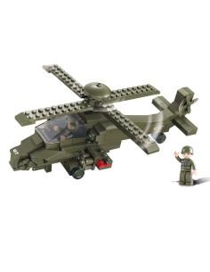 Elicottero da Attacco - Costruzioni Militari Sluban M38-B0298 comp. Lego