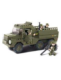 Camion trasporto truppe - Costruzioni Militari Sluban M38-B0301 comp. Lego