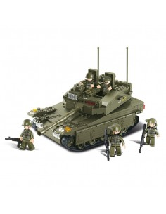 Carro Armato Merkava - Costruzioni Militari Sluban M38-B0305 compatibili Lego