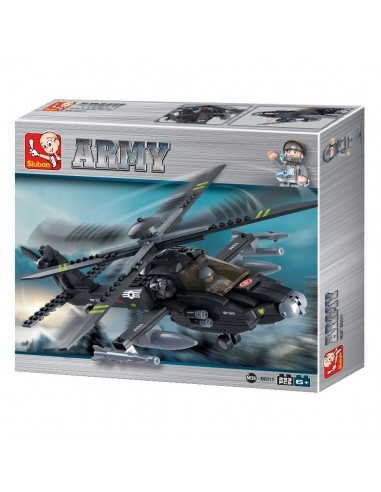 Elicottero Apache USAF - Costruzioni Militari Sluban M38-B0511 - 413132 - Sluban