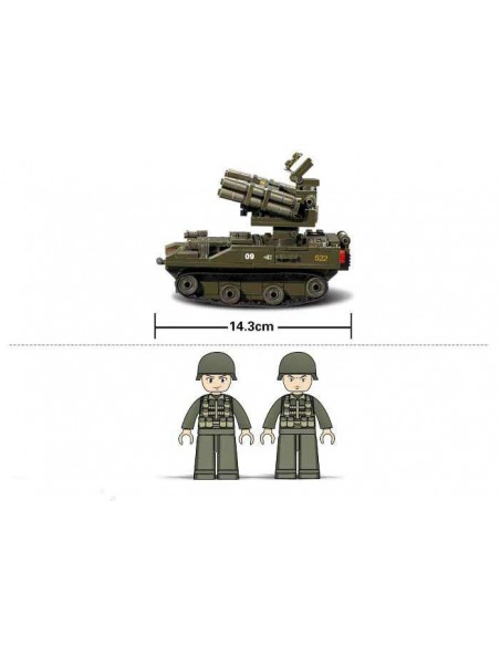 Lanciarazzi - Costruzioni Militari Sluban M38-B0283 - 413151 - Sluban