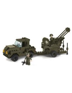 Batteria Antiaerea Contraerea- Costruzioni Militari Sluban M38-B7300 comp Lego
