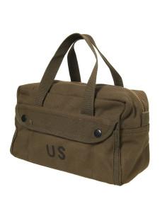 Borsa porta attrezzi piccola militare americana US vintage WWII