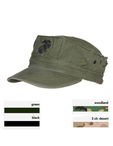 Cappello da campo USMC United States Marine Corps colori vari cotone