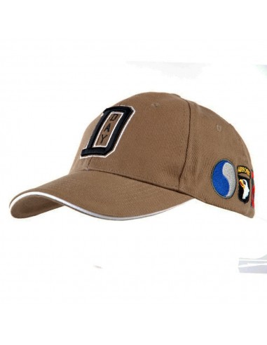 Cappello da Baseball D-Day Sbarco in Normandia WWII con stemmi - 215157-265 - Fostex Garments