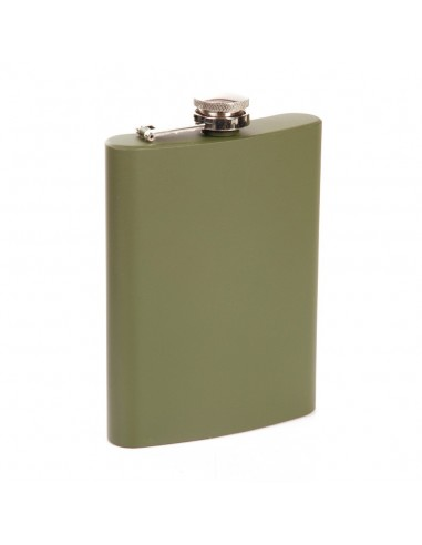 Fiaschetta militare tascabile Verde Oliva da 8 OZ 236 ml - 343192 - Fosco Industries