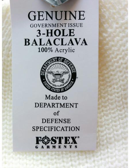 Passamontagna Balaclava pesante Mephisto 3 fori colori vari USA - 214281 - Fostex Garments
