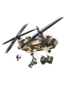Elicottero Chinook CH-47 - Costruzioni Militari Sluban M38-B0508 - 413128 - Sluban