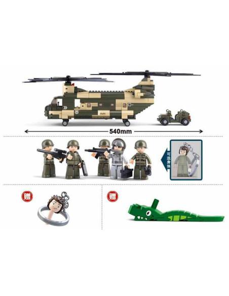 Elicottero Chinook CH-47 - Costruzioni Militari Sluban M38-B0508