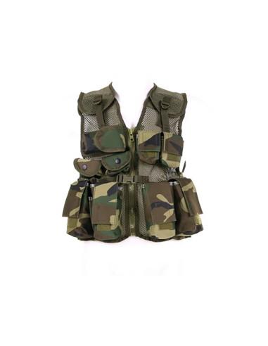 Gilet tattico militare mimetico da bambino - 129763 - 101 INC