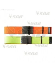 Cintura fluorescente alta visibilità SBB soccorso, protezione civile