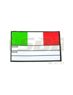 Adesivo impermeabile scrivibile per bauli militari Italia SBB