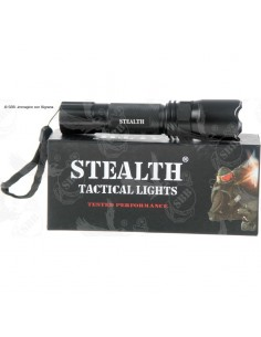 Torcia tattica Nightfighter SLT-15 2 Stealth LED 110 lumen - 3369 - Stealth
