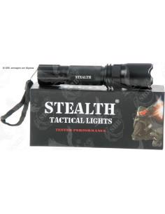 Torcia tattica Nightfighter SLT-15 2 Stealth LED 110 lumen - 3369 - Stealth
