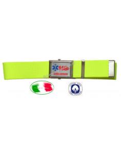Cintura 118 Soccorso Sanitario alta visibilità giallo fluorescente