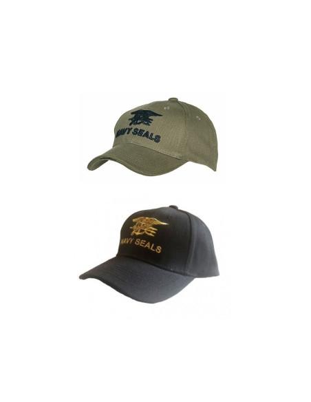 Cappello da Baseball Navy Seals - 215150-205 - Fostex Garments
