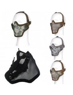 Maschera protettiva mezzo viso softair 101 INC