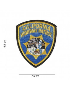 Toppa Patch California Highway Patrol ricamata termoadesiva - 442315-3236 -