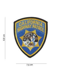 Toppa Patch California Highway Patrol ricamata termoadesiva