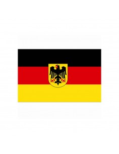 Bandiera Germania con Aquila Tedesca Bundeswappen - Bundesadler - 447200-106 - Fosco Industries