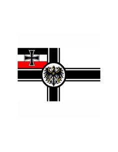 Bandiera Germania Vecchio Impero Secondo Reich WWI