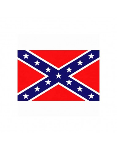 Bandiera Confederata Sudista Guerra civile Americana USA - 447200-152 - Fosco Industries