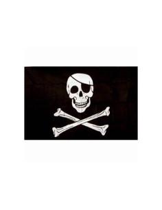 Bandiera Pirata Jolly Rogers Teschio con Benda - 447200-166 - Fosco Industries