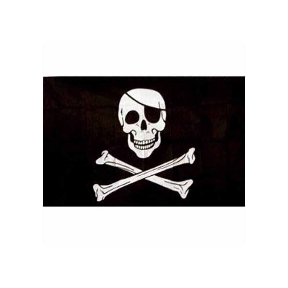 Immagini Di Teschio Pirati bandiera pirata jolly rogers teschio con benda - fosco industries –