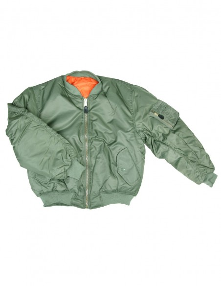 Bomber Militare MA-1 Flight Jacket USA - Fostex Garments