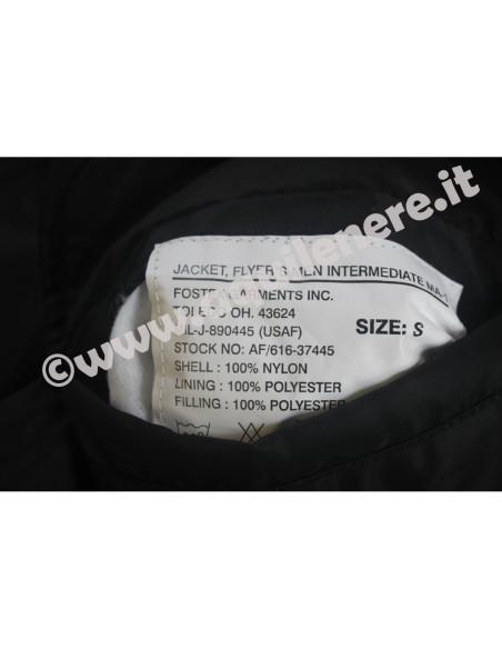 Bomber Militare MA-1 Flight Jacket USA - 0406 - Fostex Garments