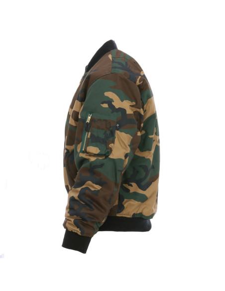 Bomber Militare MA-1 Flight Jacket USA Camouflage - 0406CA - Fostex Garments