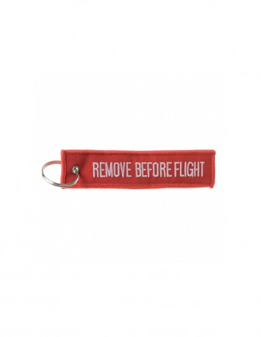 Portachiavi ricamato Remove Before Flight - 1837 -