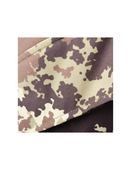 Pantaloni militari impermeabili traspiranti con bretelle - 3048 - SBB Brancaleoni
