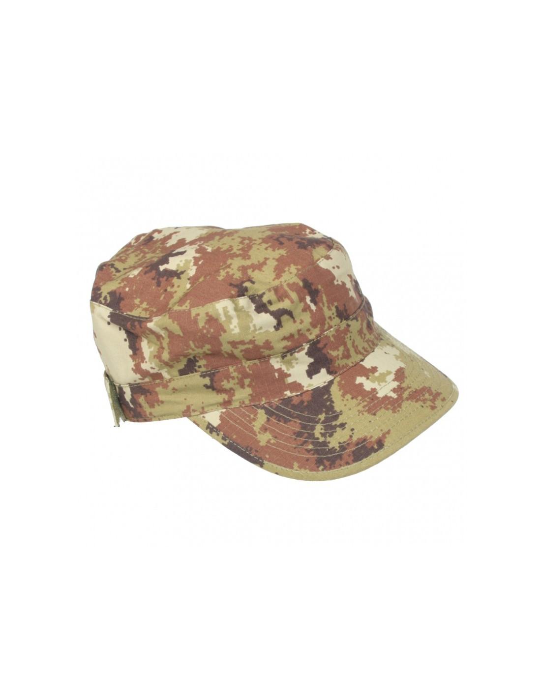 Cappello militare Ranger SBB vegetato con tasca - 0324 - SBB Brancaleoni b240008e73b4