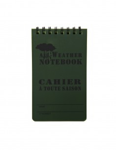 Block notes militare impermeabile Small - 4527 -