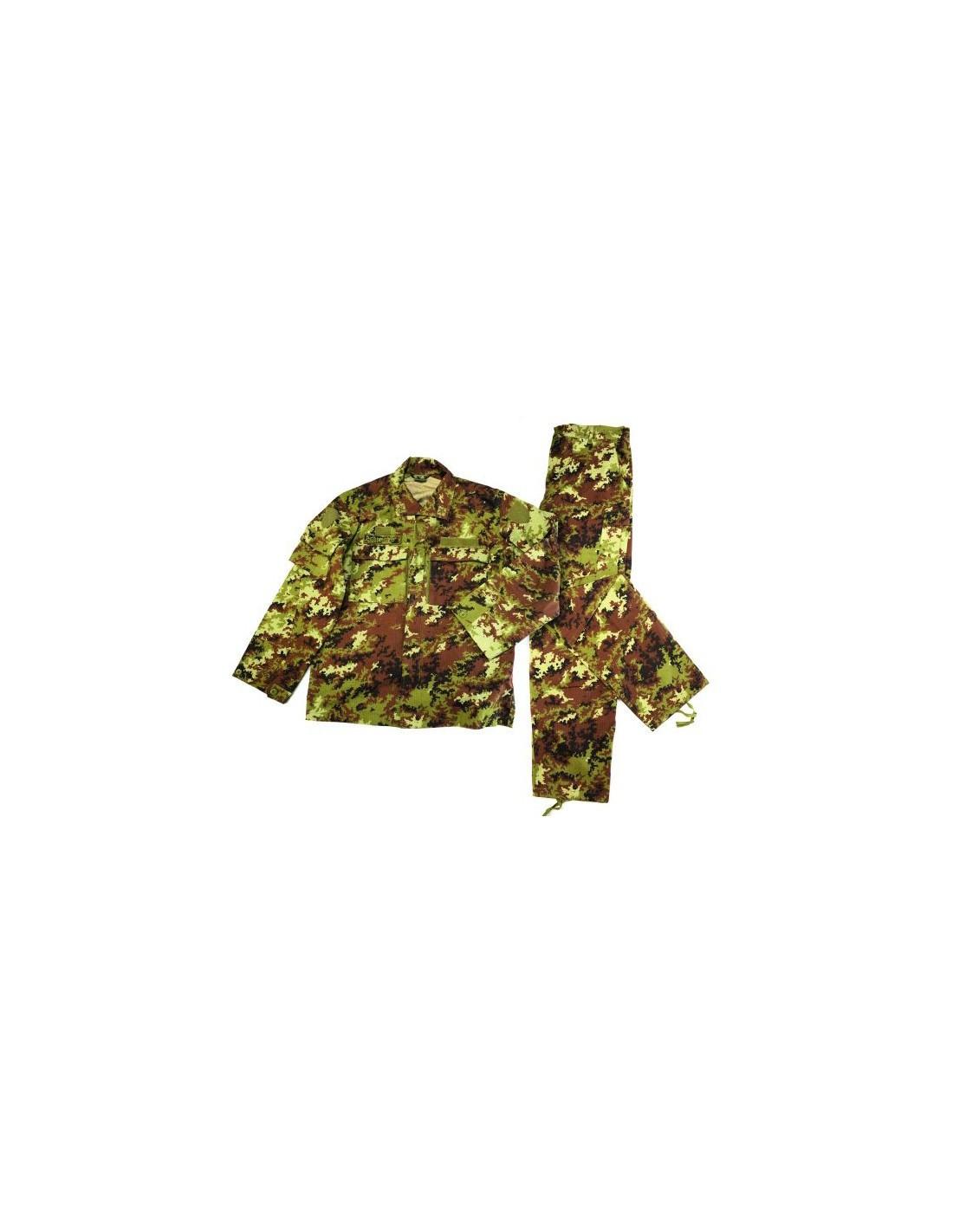 Mimetica Vegetata SBB Militare Completo da Combattimento Vegetato RipStop