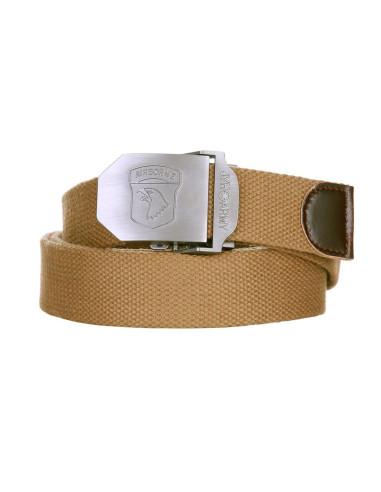 Cintura con fibbia in metallo Airborne 101st paracadutisti - 241332 - 101 INC