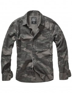 Camicia Josh Shirt Camo Brandit - 4019 - Brandit