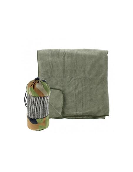 Asciugamano in microfibra con custodia 120X60 Fostex - 4712 - Fostex Garments