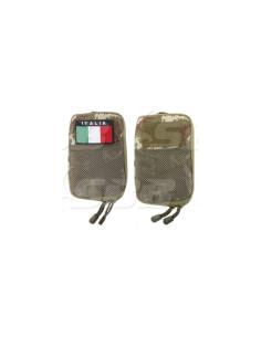 Borsina Tasca Militare Portadocumenti Multiuso SBB MOLLE colori vari Italia - 0674 - SBB