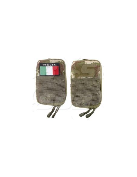 Borsina Tasca Militare Portadocumenti Multiuso SBB MOLLE colori vari Italia - 0674 - Condor