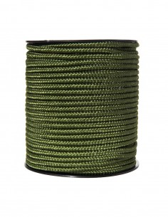 Rullo Corda utility militare 60 metri in Nylon spessore 5 mm - 319434 - Fosco Industries