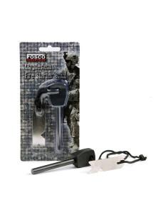 Acciarino militare al Magnesio barra da 8 mm accendi fuoco - 429746 - Fosco Industries