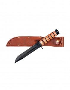 Coltello USMC KA BAR replica con fodero in pelle - 455470 - 101 INC
