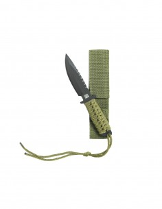 Coltello Militare con Paracord modello Recon 18 cm con custodia - 455460/2 - 101 INC