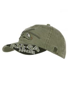 Cappello da Baseball AH-64 Apache stone washed - 215121 - Fostex Garments