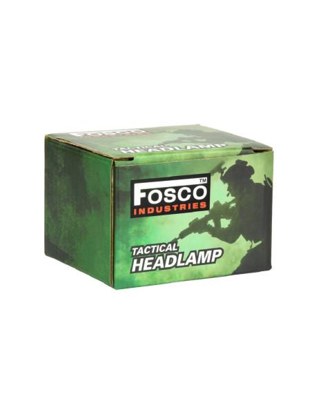 Torcia tattica 140 lumen da testa multifunzione - 369331 - Fosco Industries